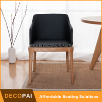 Soft seat wood chair