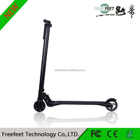 2016 New trending product Carbon fiber electric scooter 2 wheel mini off-road electric trike scooter