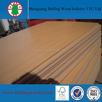 beech wood grain melamine mdf wood