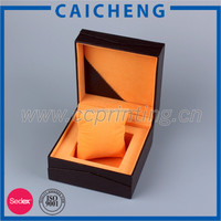 Handmade Square Gift Watch Cardboard Box with Pillow