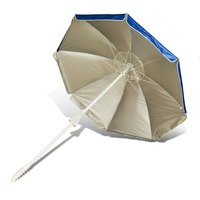 hot sale chinese promotion 240cm printing 320d oxford advertising outdoor beach umbrella