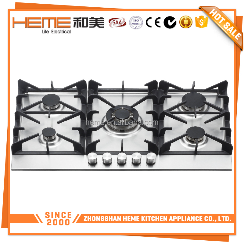 Hot Selling 5 burners 90cm built-in ferre gas cooker (PG9051S-HC2I)