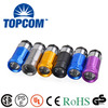 High Quality Aluminum Alloy Cigarette Lighter Rechargeable Car Rechared MINI Torch Flashlight