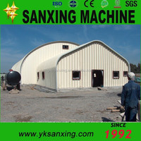 UCM-1000-550 Sanxing K Q Span Roll Forming Machine/Locking Roof Bending Machine