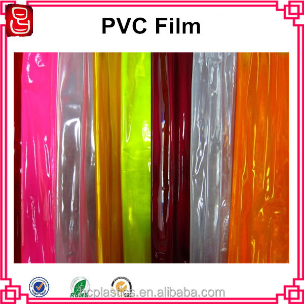 China manufacturer hot blue roll soft pvc stretch film