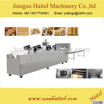 Professional Automatic Breakfast Cereal Oat Flakes Making Machine