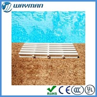 [Better price for container]PVC/plastic swimming pool overflow grating