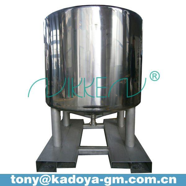 1500L stainless steel tank for alcohol