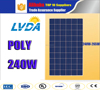 home sunpower price list 240w poly solar panel polycrystalline 29.59v 8.28A poly solar panel 1640*992*40MM 25years lifetime