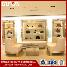 Customized bag retail store display fixture for decoration