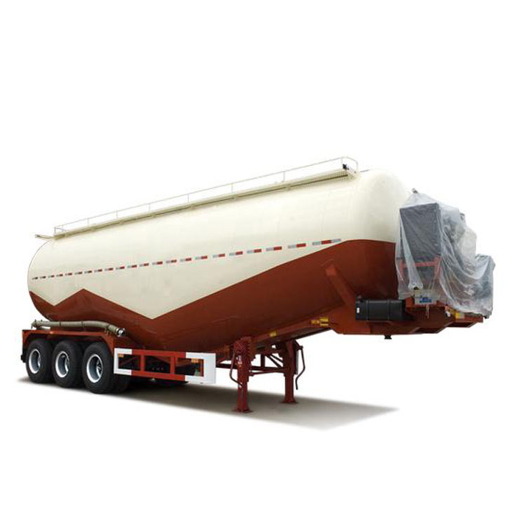 3 <strong>Axles</strong> 12 <strong>wheels</strong> 30cbm Dry Powder Cement Tanker truck semitrailer For Sale