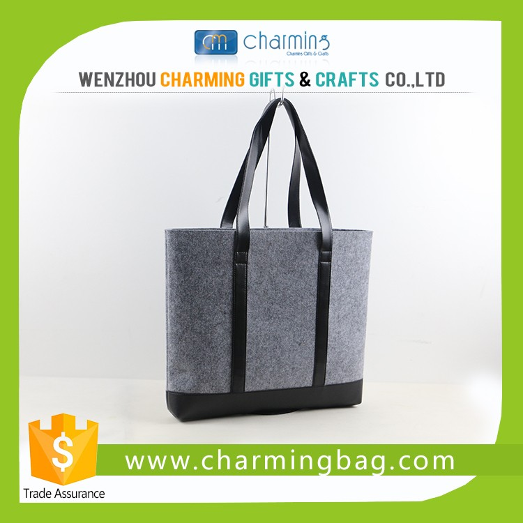 Super quality customized wool felt bag