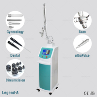 portable fractional co2 laser burn scar removal with glass tube