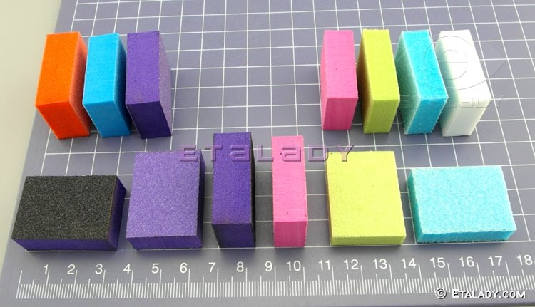 Disposable Nail File Mini Nail Buffer