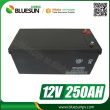long life 12v 200ah 250ah gel cell battery for solar power system home backup battery