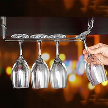 best service factory directlysell metal hanging wine glass rack