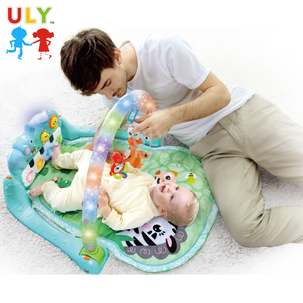 Baby play mat piano keyboard mat baby play gym mat