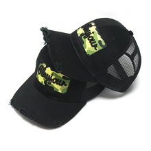 High quality new design wholesale 3d embroidery trucker hats mesh trucker cap