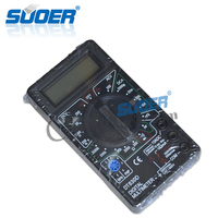 Suoer CE Digital Multimeter DT-830D Best LCD Display Multimeter