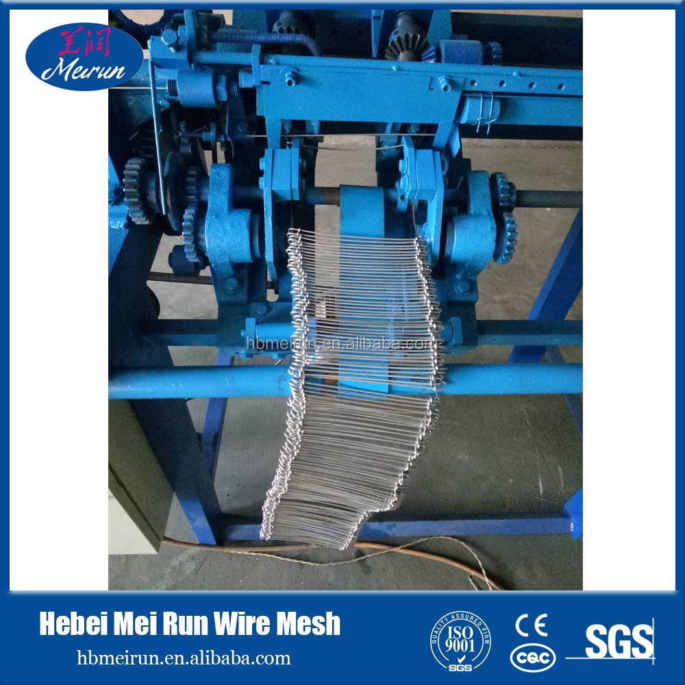2017 Hot sale!! galvanized double loop tie wire / double end loop tie wire /twin loop wire binding machine