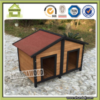 SDD12 Cheap Wooden Outdoor dog pet crate