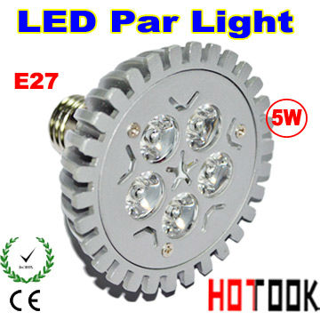 Wholesale E27 5W PAR20 LED Bulb Par 20 Lamp Light 85-256V with 5leds Light warranty 2 years CE & RoHS