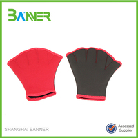 Neoprene Professional Water Training Swimming Gloves