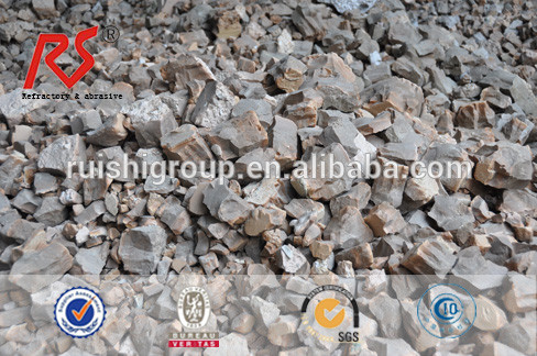 Refining calcium aluminate flux Fused tundish slag Sintered tundish slag for steel mill slag
