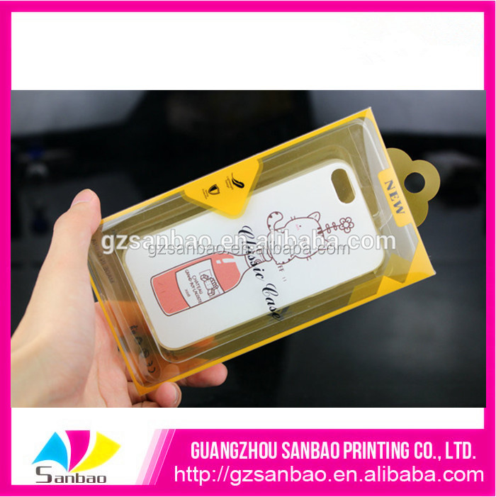 New arrival cell phone retail case packaging blister large