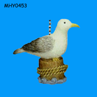 Decorative seagull fabulous resin Fan Pull