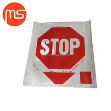 Stop signs on school bus