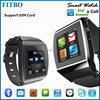 Bluetooth Sync Audio Play wifi wrist watch cell phone oem for galaxy s7 edge+