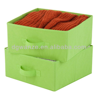 fabric lined storage boxes,foldable storage box for clothing
