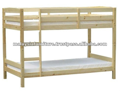 PROMO WOODEN BUNK BED