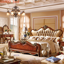 French Style Wooden Bedroom Furniture Bedroom sets, Wooden bed and night stand