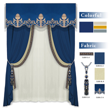CL026 Retail and Wholesale Modern Blackout Window Curtain for Hotel