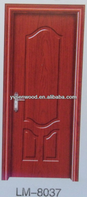 Pvc interior door/wooden door/solid wood door