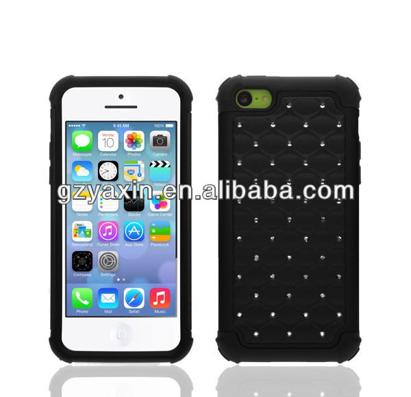 wholesale leather case for iphone5c, wallet case for iphone5c