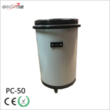 50L portable beverage can cooler fridge with wheels