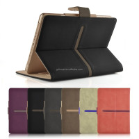 Buckle Suede PU Leather Stand Function Cover Case for Apple iPad Air 2