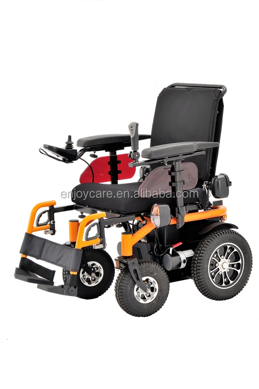 Aluminum Foldable power wheelchair with PG controller EPW68