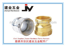 Aluminium Cam and Groove fittings Type A Male Adapter X Female Thread