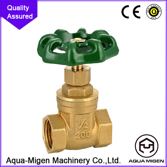 Reasonable Price 2016 New Brass Oil Gate Valve