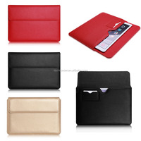New products Document Bag Style Leather Tablet Case for ipad pro with wake up /sleeping function , for ipad pro back cover case