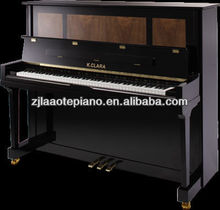 AC-125B high quality piano parts from german and Japan, wooden black and brown Upright piano with adjustable piano bench