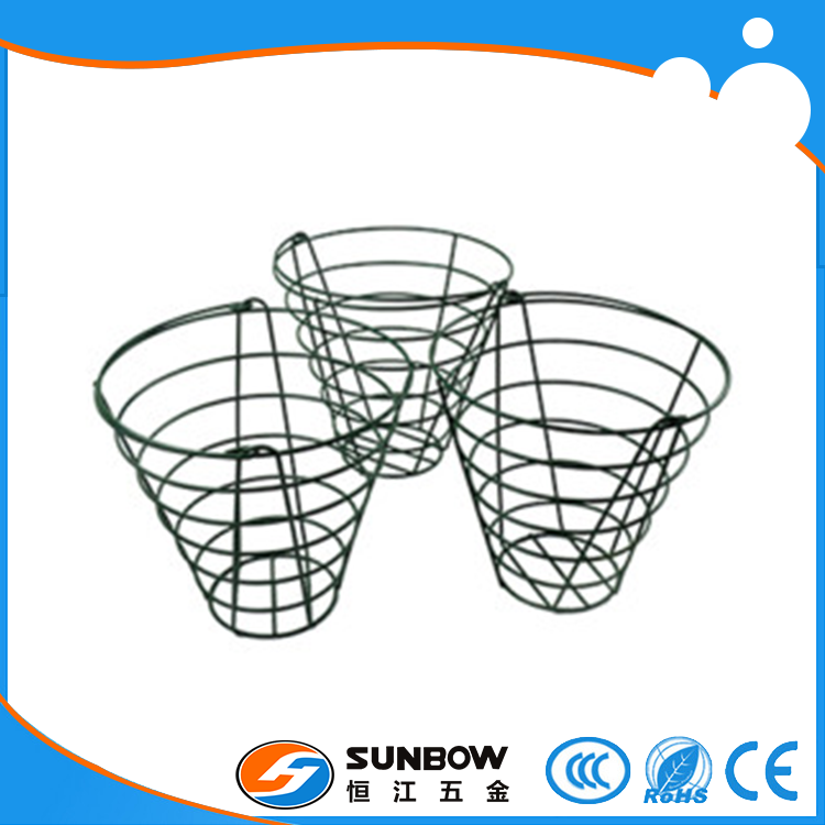 Customized iron steel golf ball wire basket