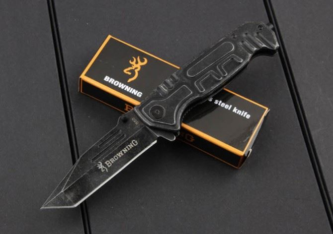 Browning B50 stone wash quick opening army combat folding outdoor tool survival pocket tactical hunting <strong>knife</strong>