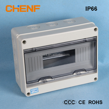 12 ways ABS plastic material switch box waterproof electrical distribution box