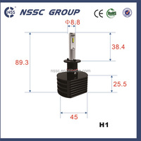 H1 H3 H4 H7 led car headlight 3500lm Manufactured by auto lighting company NSSC