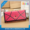Encai Colorful Ladies Wallet Fashion PU Women's Purse Stylish Crown Wallet